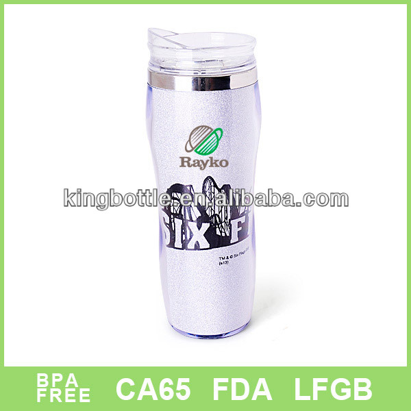 New Product Reserve 16oz plastic travel water bottle Promotaional