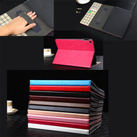 For iPad Air 2 Case With Handle Lightweight PU Leather Tablet Cover