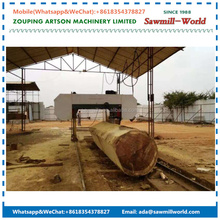 Woodworking Horizontal Wood Cutting Sawmill Large Band Saw For Sale