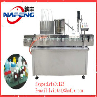 Shanghai Equipment specialty produce Oral , monin Syrup Filling&Capping Machine