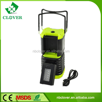 Detachable flashlights 60 LED detachable rechargeable camping lantern