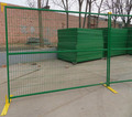 6X10ft Canada Temporary Metal Fence with Metal Base feet