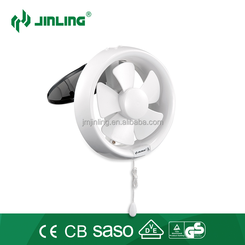 CE approval 6 inch round shape bathroom window mounted exhaust <strong>fan</strong> for toilet