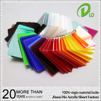 100% lucite mma material sheet coloured acrylic 5mm