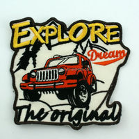 Best Sale custom car logo embroidery patches