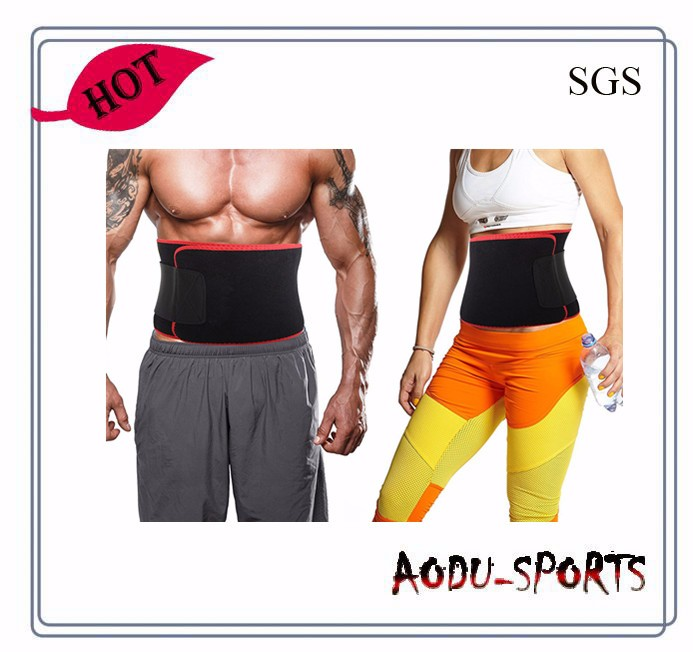 Man Woman Slim Support Neoprene Waist Trainer