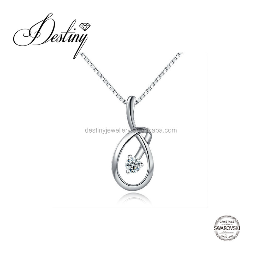 Destiny Jewellery Dumbbelll pendant Factory direct sale wholesale price Embellished with crystals from Swarovski