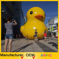 High quality inflatable yellow giant duck attractive inflatable buoy duck promotion duck