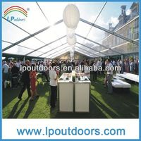 Promotional wedding tent dome