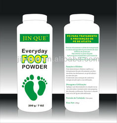 100gram alum foot deodorant powder