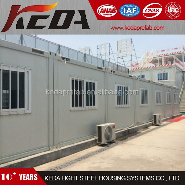 Prefabricated Office Building Combined by Container Module BYJC005