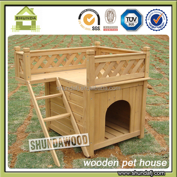SDD01 Wooden Dog House Factory