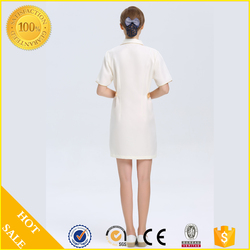 Newest 100% cotton salon and spa uniform