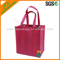 PP non woven 6 bottle wine bag with dividers (PRB-16008)