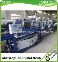 CE standard automatic plastic bottle shrink film wrap packing machine