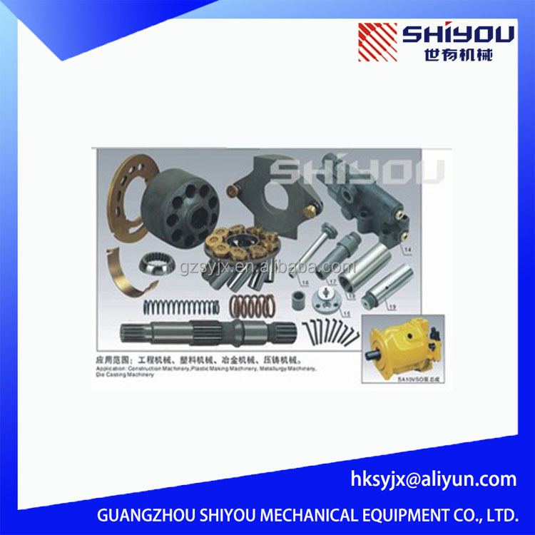 China Gold Supplier Hydraulic Pump Spare Parts A10V A10VD For Excavator Main Pump A10V17/21/23/28/40/43/45/71/100/140