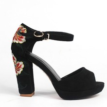 2017 New Fashion Flower Sandals Women's Shoes