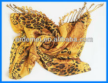 Fashion women leopard print scarves autumn 2013