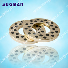 Lubricating Bearing Pads Thrust Washer , Bronze Copper Brass Steel Washers