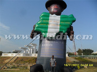 Advertising inflatable character, inflatable celebrity model ballon for promotion K2105