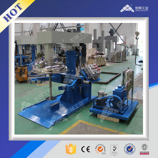 Aliphatic polyurethane paint high speed disperser mixer
