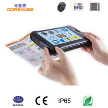 Rugged android tablet pc with barcode scanner,RFID reader for invetory management, Biometric Fingerprinter Sensor, Connect IC
