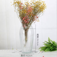 Hot Selling Tall Cheap Hand Blown Color Glass Vases
