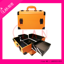 2017 Cosmetic multifunction aluminum case ,make up case in stock