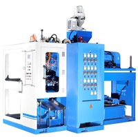4 CAVITIES SINGLE STATION BLOW MOULDING MACHINE FOR SMALL BOTTLES