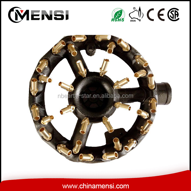32 Jet cast iron ring burner for gas cooking appliance