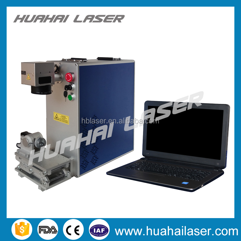 2016 Alibaba China machinery high quality bird pigeon ring 20W fiber laser marking machine
