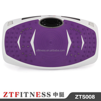 2016 hot selling ultrathin body slimmer vibration plate crazy fit massage spare parts with 200w