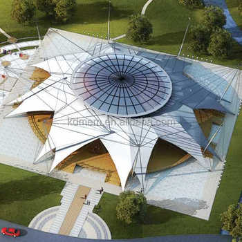 ETFE membrane structure architecture roof facade