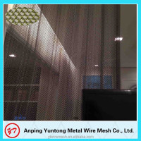 Customized aluminum architectural metal coil drapery