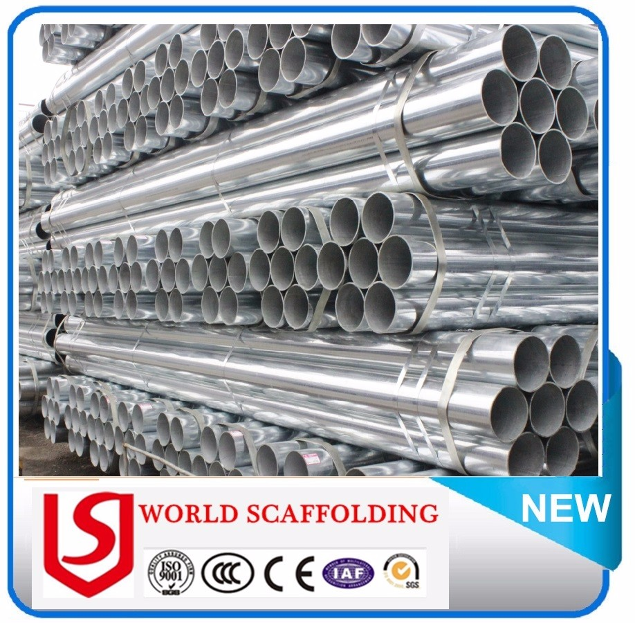 En10219 En39 Bs1387 Structural Galvanized Pipe And Scaffolding tube Load Capacity