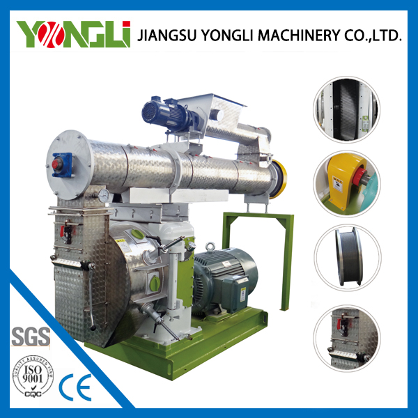 Yongli brand animal pellet feed cutting machinery with CE