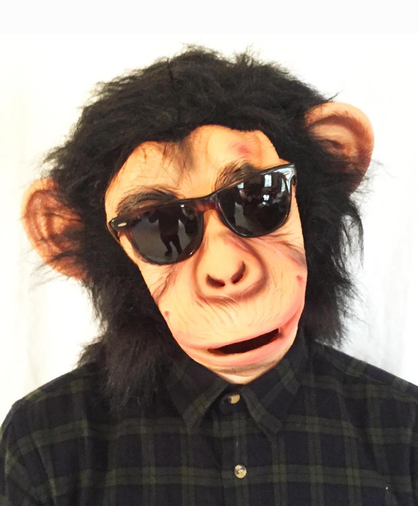 Bruno Mars Lazy Song Chimp Mask - Buy Latex Pvc Halloween Bruno ...