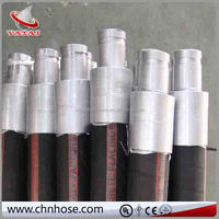 China supplier big diameter 6 inch wire braided concrete pump rubber hose