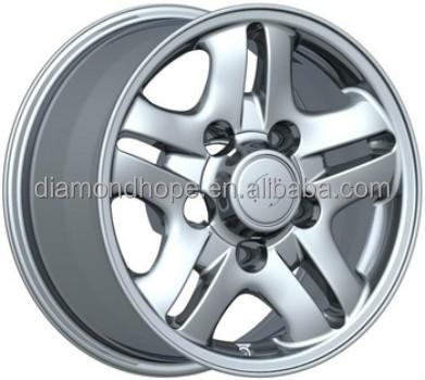 Europe design low price and high quality 16x8jj matt black machine face alloy wheels rims (ZW-J5039)