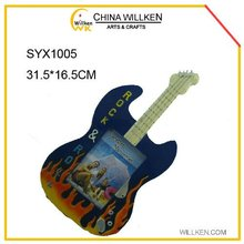 Wholesale Polyresin Guitar Picture Photo Frame