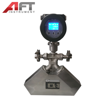 mechanical low cost liquid propane coriolis mass flow meter