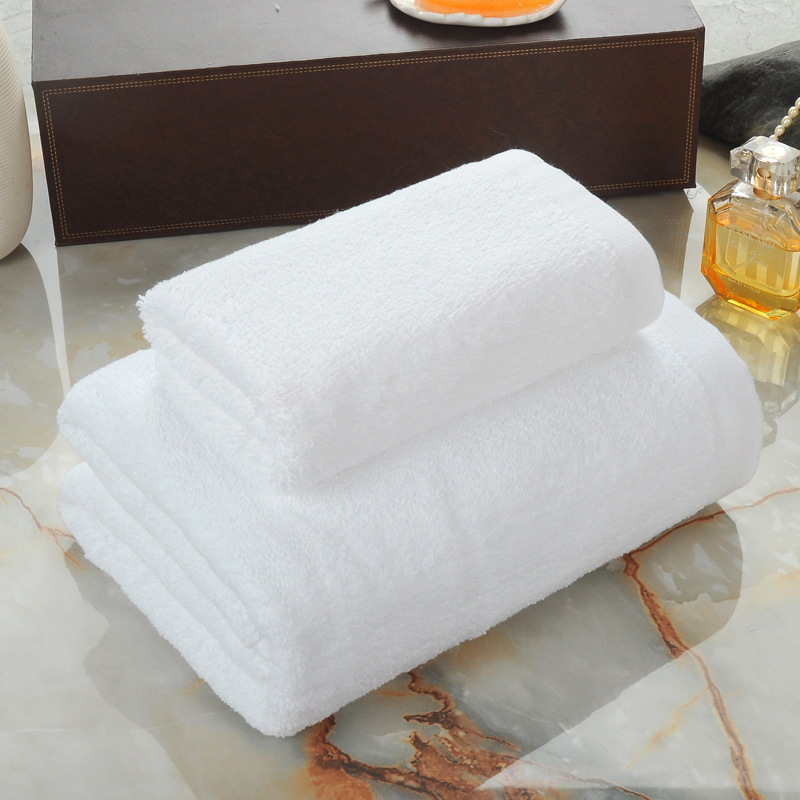 In Stock 100% <strong>Cotton</strong> 16S White 35x75cm 150g Hand Towel