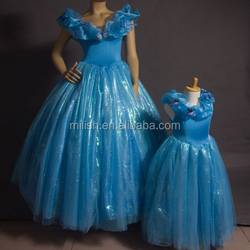 MAC-86 party cheap wholesale cinderella adult costume/ cinderella dress