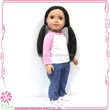 Factory price handmade vinyl 18 inch baby dolls for sale