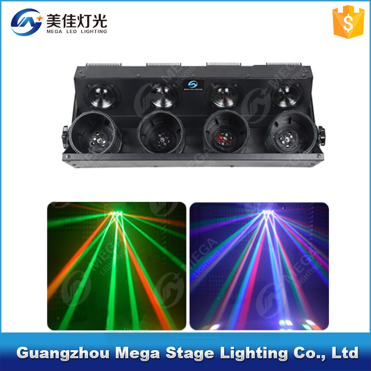 China professional dj equipment 4x10w 4in1 white led scanner security intelligence equipments