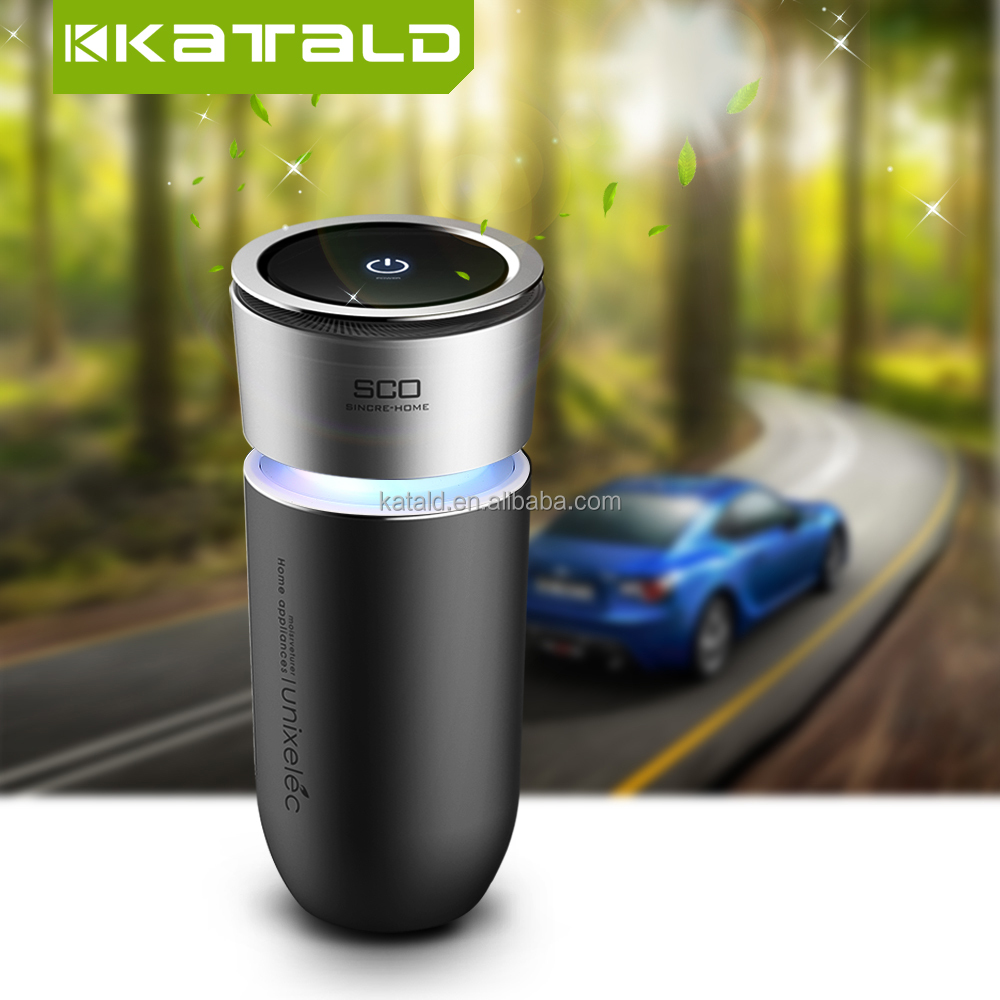 New Model Portable Bottle Mini Car Air Purifier For Vehicles 2017