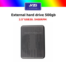 "Fresh Hdd 2.5"" 500GB hard disk usb3.0 External hard drive OEM with black color"