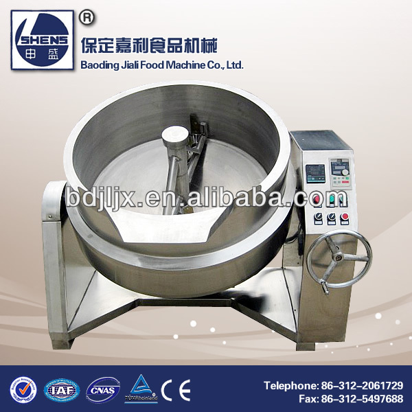 Industrial gas heat Milk boiling machine