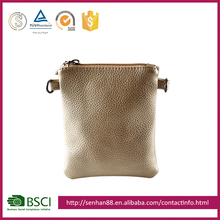 Custom fashion gold Support Custom colors PU travel chest professional women's shoulder bag