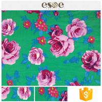 Women textile assured quality 100% cotton printing fabric